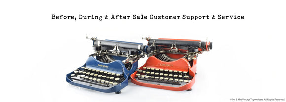Working Typewriter Serviced restored for sale in the UK and Worldwide Best Customer service