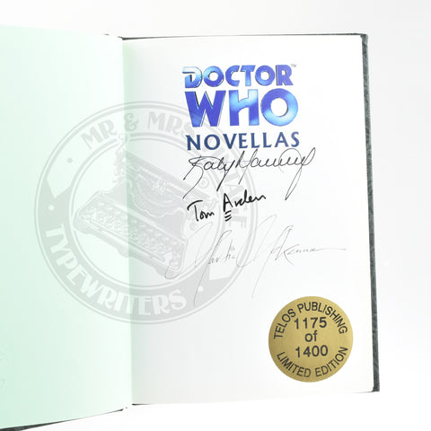 David Rain | Tom Arden Doctor Who Novellas Nightdreamers Signed Copy