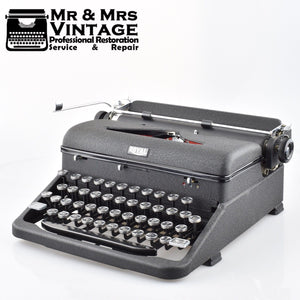 Royal Arrow Typewriter in Dark Grey Matte