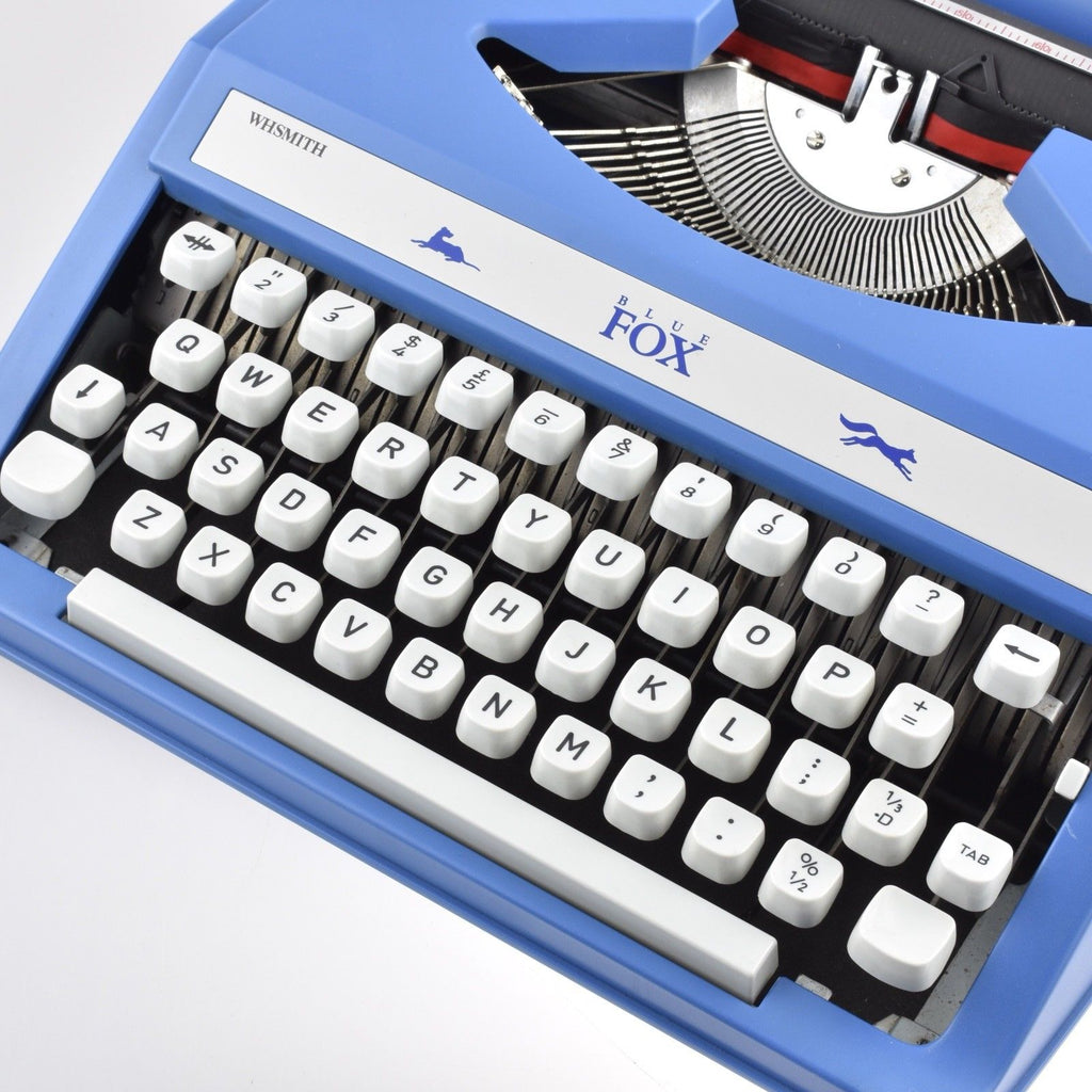 Serviced Working Fox Typewriter