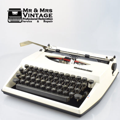 Adler Tippa Typewriter with Cubic or Senatorial Typeface