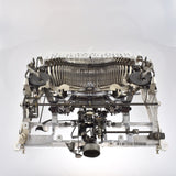 Dissembled Hermes 3000 during repair by MR & MRS VINTAGE TYPEWRITERS