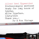 Silver Reed SR10 TypeFace