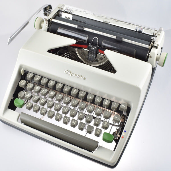Restored Serviced Working Olympia SM8 Typewriter