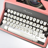 Professionally Serviced Working Olympia SM7 Pink Typewriter