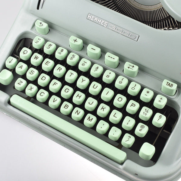 Professionally Serviced Restored Working Hermes 3000 Typewriter