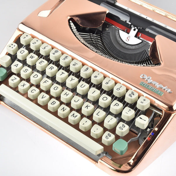 ONLY AT Mr & Mrs Vintage Typewriters - COPPER PLATED Typewriter