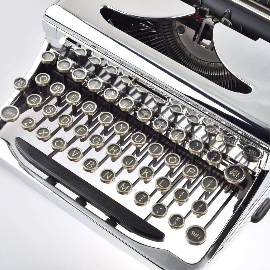 Serviced Working Royal O Typewriter