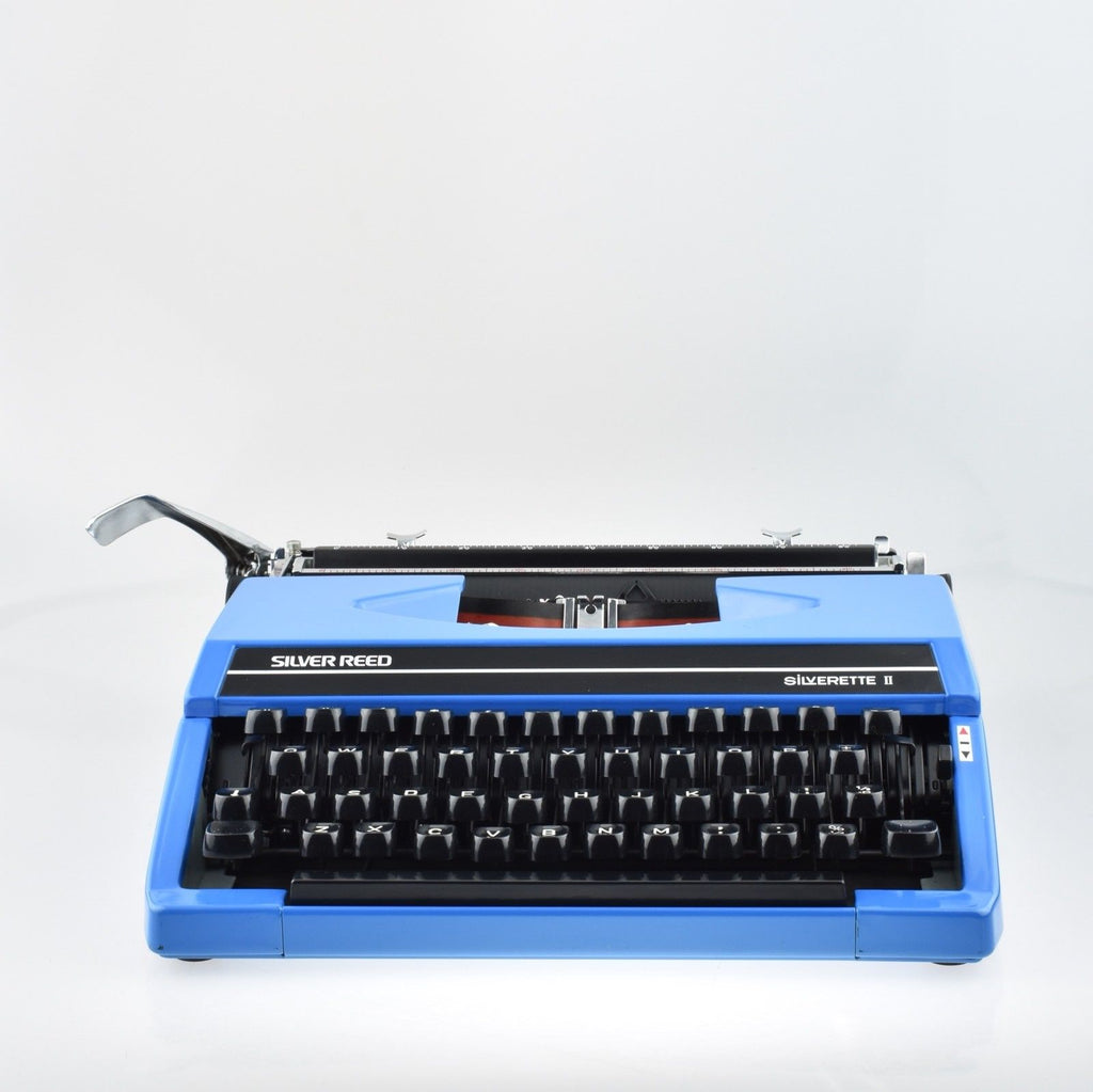 Serviced Working Silver Reed Silverette II Typewriter