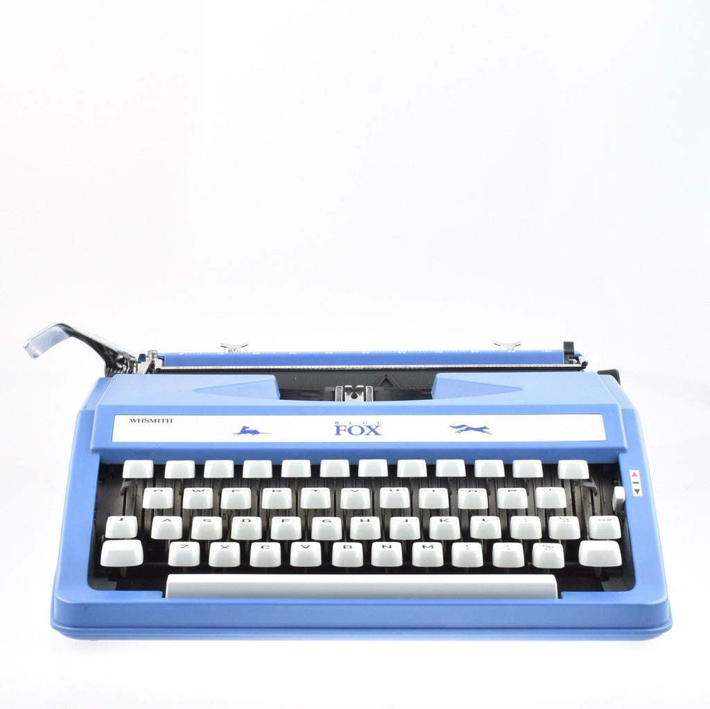WH SMITH fox typewriter