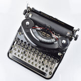 "Noiseless Portable Remington Typewriter   in Glossy Black ""Mint"""