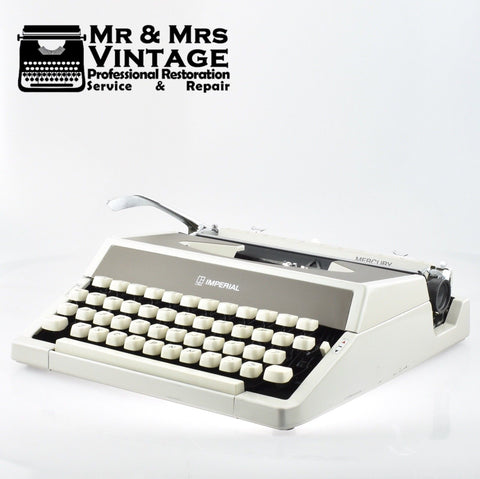 Imperial Mercury Typewriter - Excellent Mechanical condition