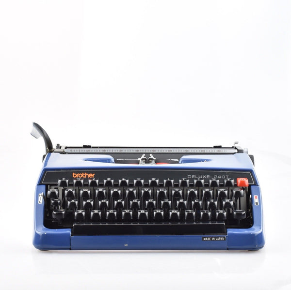 Working Brother De luxe Typewriter