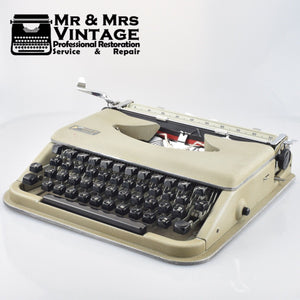 Antares Prava Typewriter - Light Portable - Made in Italy