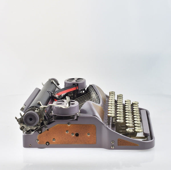 Rare 1927 Lavender LC Smith Corona 4 Typewriter  in  Mint Condition
