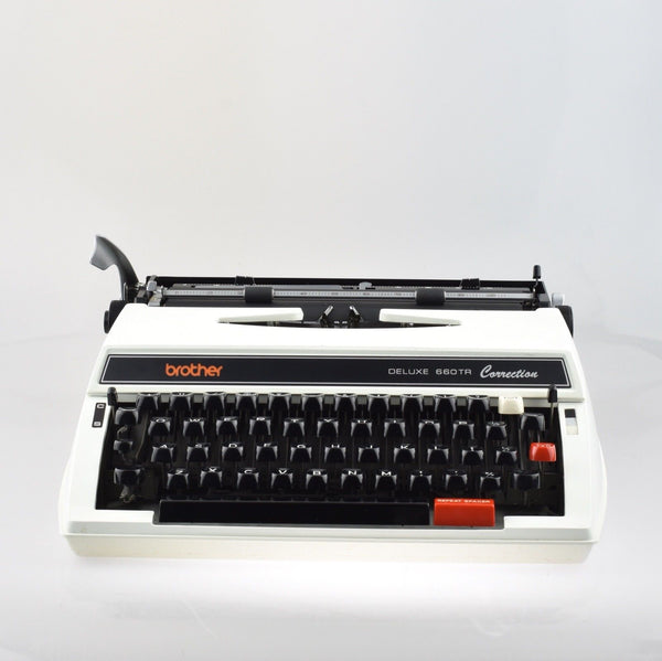 Professionally Serviced Working Brother Deluxe 660TR Correction Typewriter