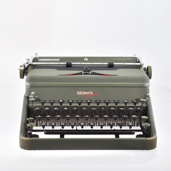 Restored Serviced Working Hermes 2000 Typewriter