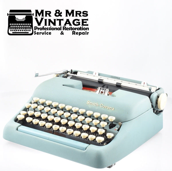 Smith Corona Clipper Typewriter Working Serviced