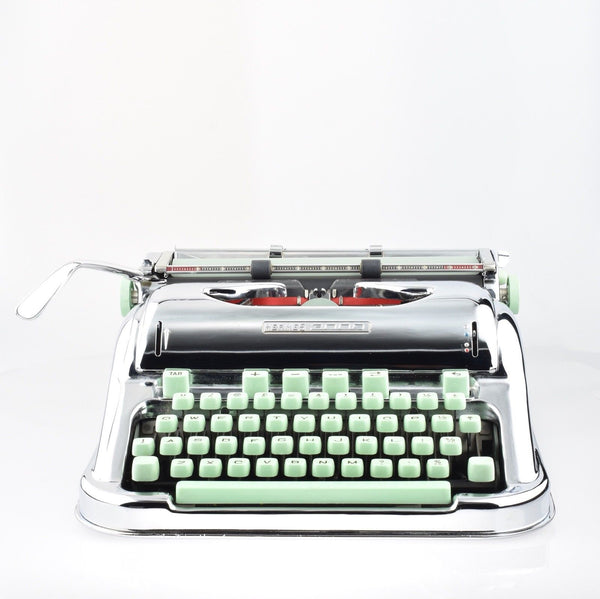By Mr & Mrs Vintage Typewriters - 100% Genuinely Serviced Working  Hermes 3000 Chrome Plated