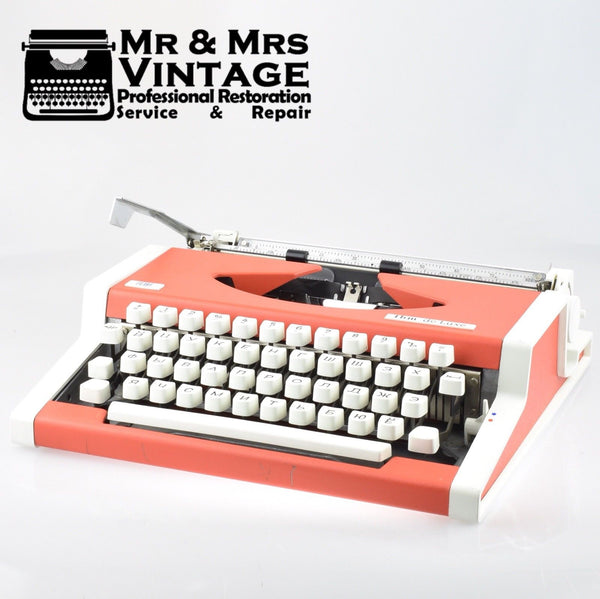 Olympia Orange Typewriter Cyrillic Russian language layout