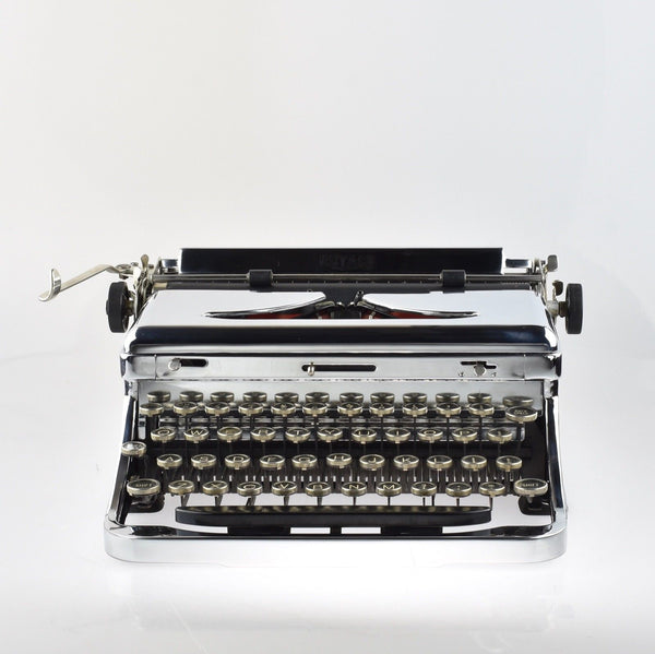Professionally Serviced Working Royal O Typewriter