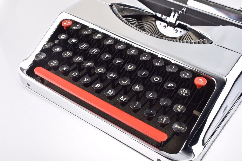 Empire Baby Chrome Plated Typewriter