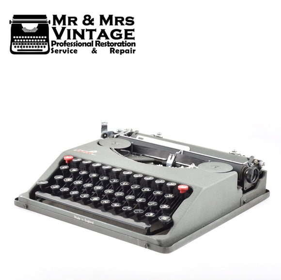 Professionally Serviced Working Empire Typewriter
