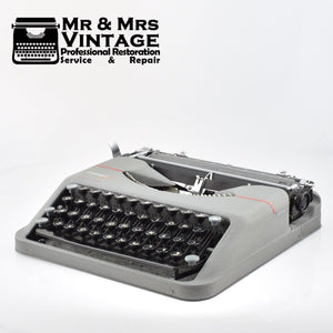 Professionally Serviced Working Hermes Baby Typewriter