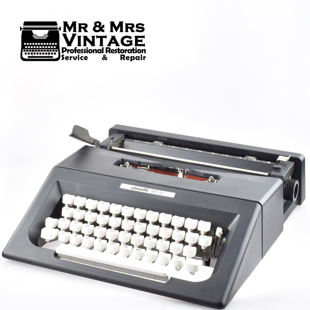 Professionally Serviced Working Olivetti MP 90 Typewriter