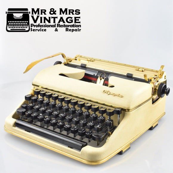 Olympia SM3 in GOLD - Gold Plated