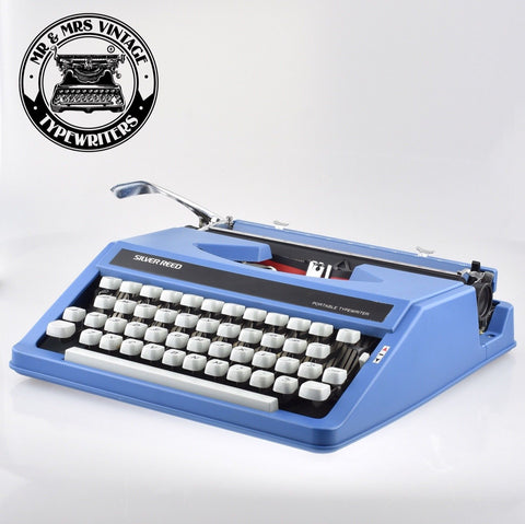 Silver Reed portable Typewriter