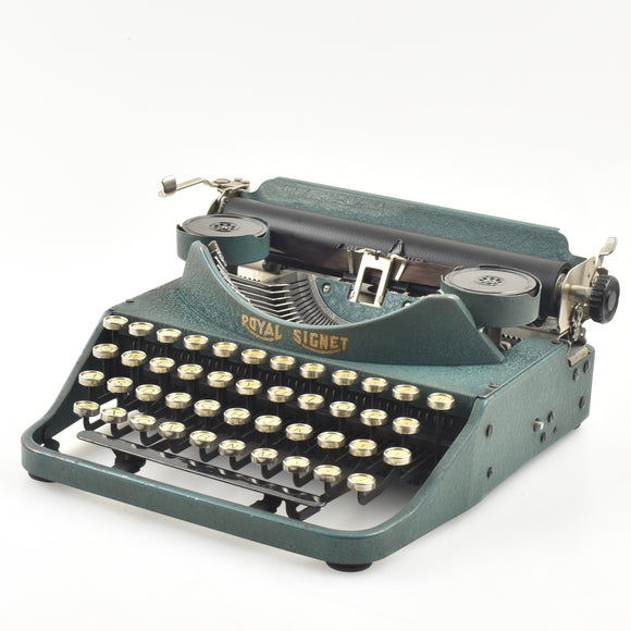 Rare Royal Signet Typewriter