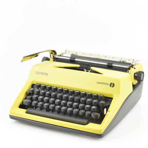 Olympia Sunshine Typewriter