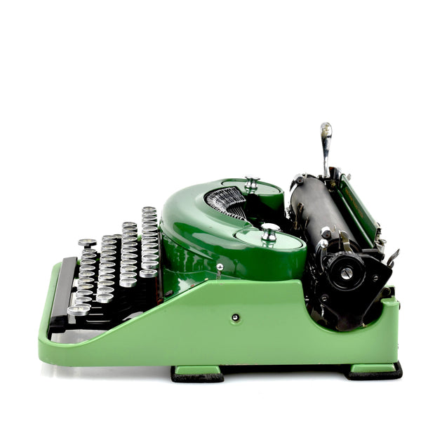 Smith Premier Noiseless Typewriter Green