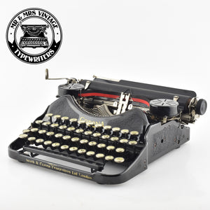 "Smith Corona 4 Typewriter ""Double Gothic typeface"""