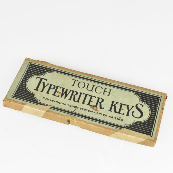 Touch Typewriter Keys for learning touch typing