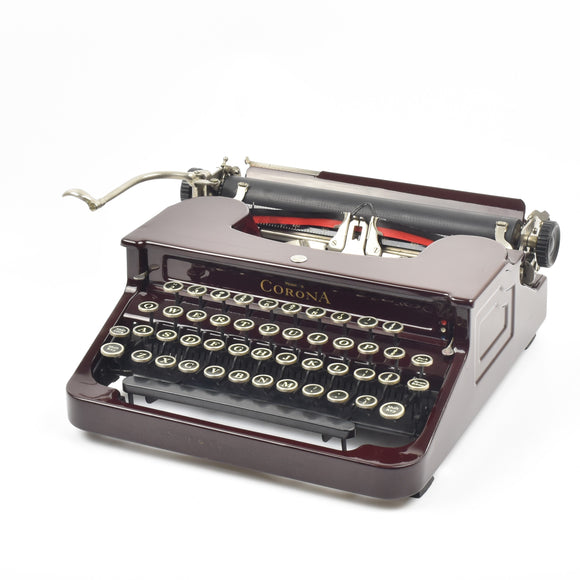LC Smith Corona Model S Typewriter