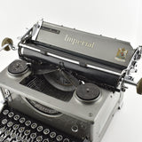 "Imperial Model 50 Typewriter ""Grey Colour"""