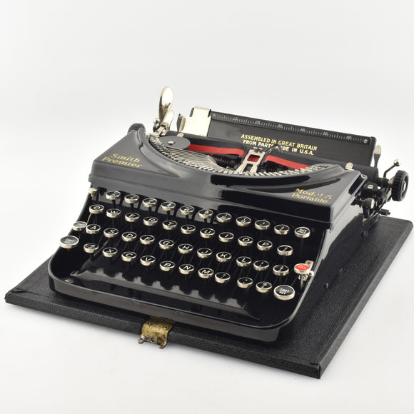 Smith Premier Model 5 portable Typewriter