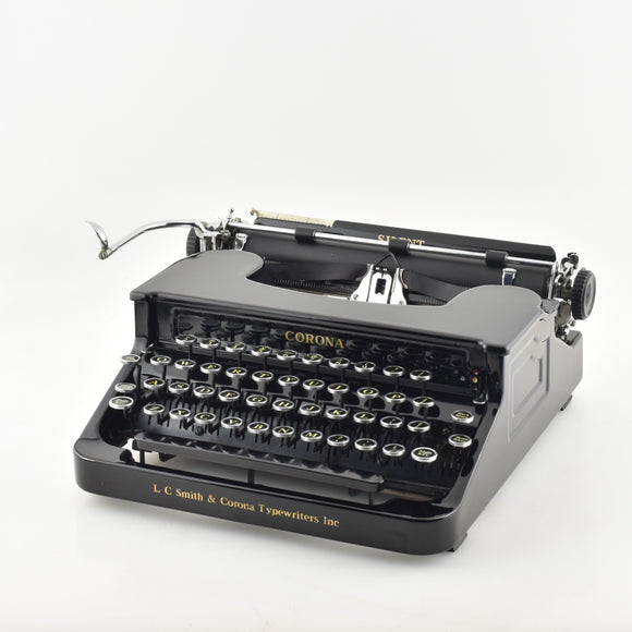 LC Smith Corona Silent Typewriter