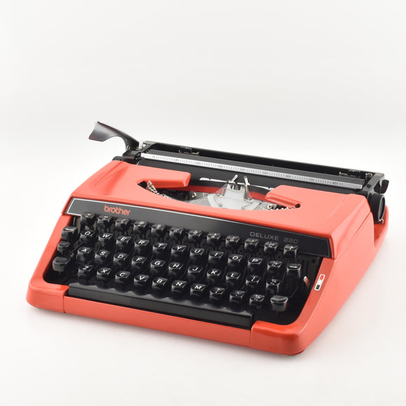 Brother Deluxe 220 Typewriter