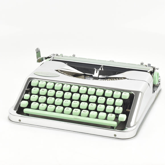 Chrome plated Hermes Baby Typewriter