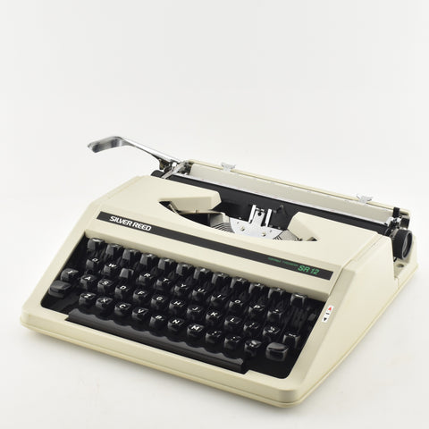 Silver Reed SR12 portable Typewriter