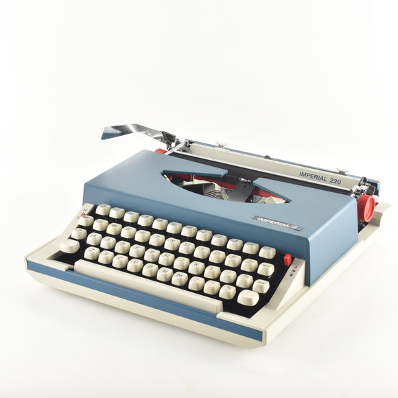 Imperial 220 Portable Typewriter