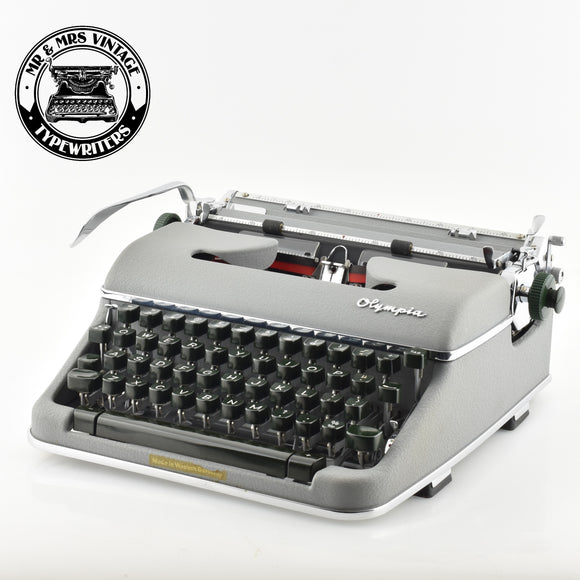 Olympia SM4 Typewriter with Rare Mathematical Symbols