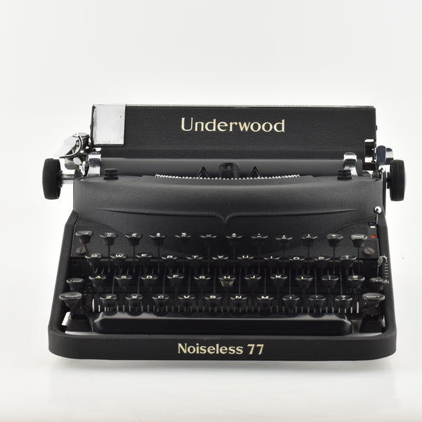 Underwood Noiseless 77 Typewriter