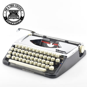 Chrome plated Olympia Splendid 66 Typewriter