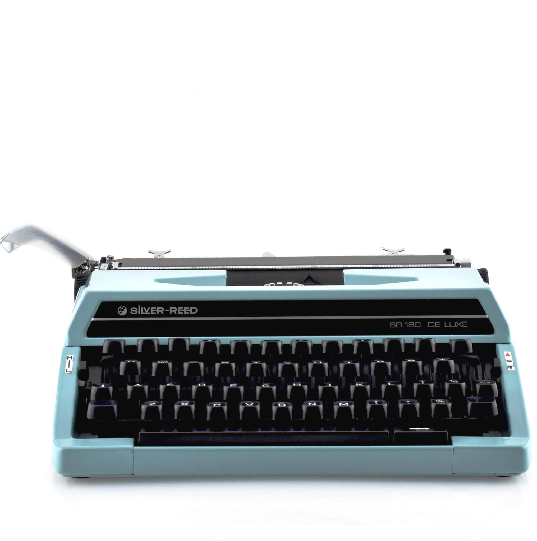 Silver Reed SR180 Typewriter | Light Blue | Boxed | New ...
