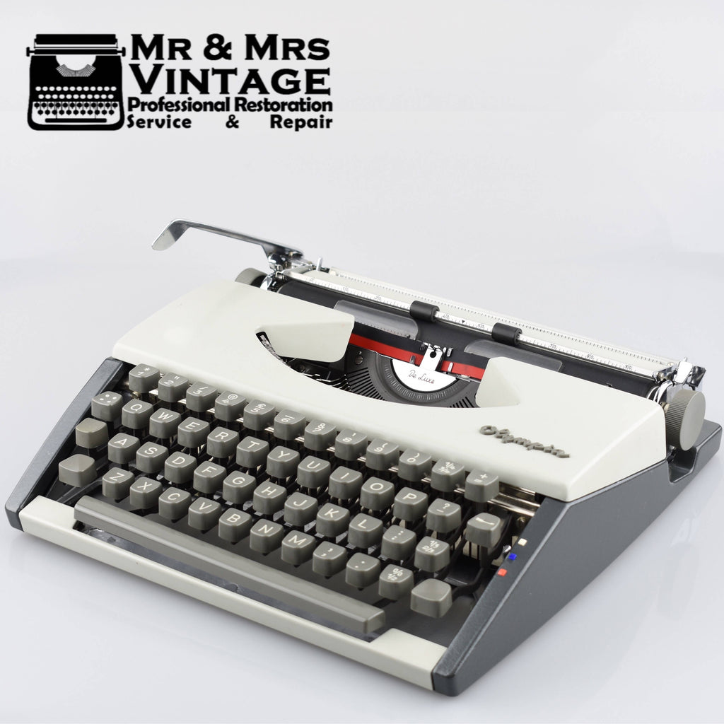 Olympia SF Deluxe Typewriter