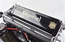 Pristine Imperial Model 50 Typewriter in Black Gloss